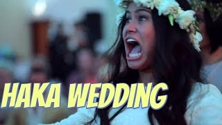 Wedding haka moves New Zealand Maori bride to tears(A passionate wedding haka that moved a New Zealand bride to tears is making everyone else cry too after being watched more than 13 million times. Video of ..., 2016-01-22T13:53:37.000Z)