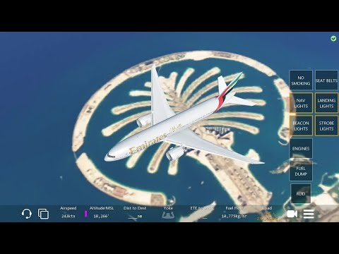 Dubai to Jeddah Infinite Flight Simulator Global