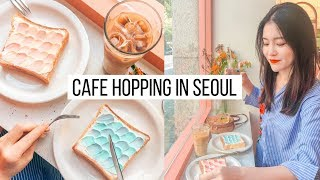 Day in My Life | Cafe Hopping in Seoul, Instagram Famous Cafes