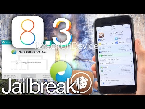 NEW Jailbreak 8.3 Untethered TaiG iOS 8.3 iPhone 6 Plus,6 5s,5c,4S,iPod 5 & iPad Mini 3, Air 2,4