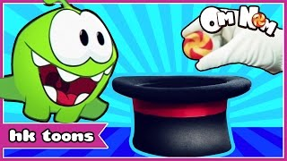 Om Nom Stories Episode 6 | Magic Tricks | Cut The Rope | Cartoon By HooplaKidz Toons