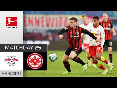 RB Leipzig Eintracht  Frankfurt Goals And Highlights