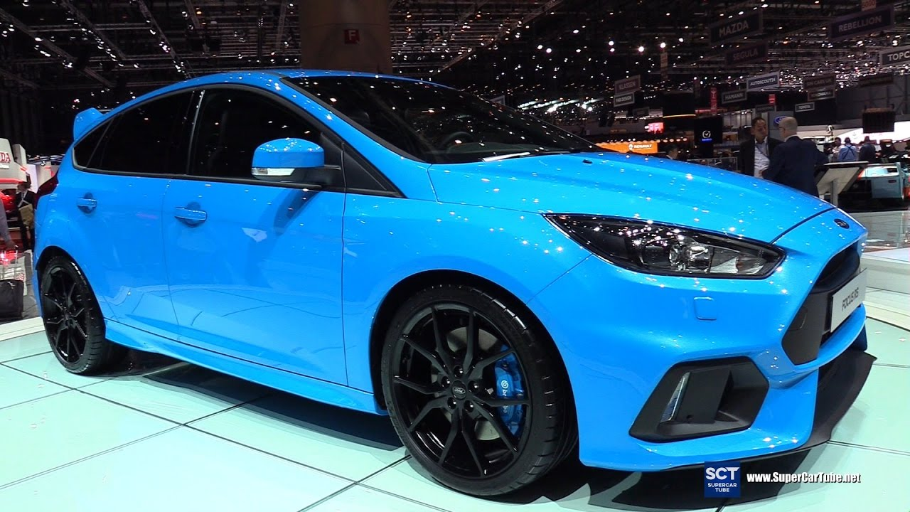 2018 Ford Focus Rs Exterior Walkaround Debut At 2017 Geneva Motor Show