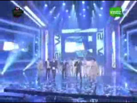 2PM wins Mnet + encore celebration with VS 2AM  (I'll Be Back).