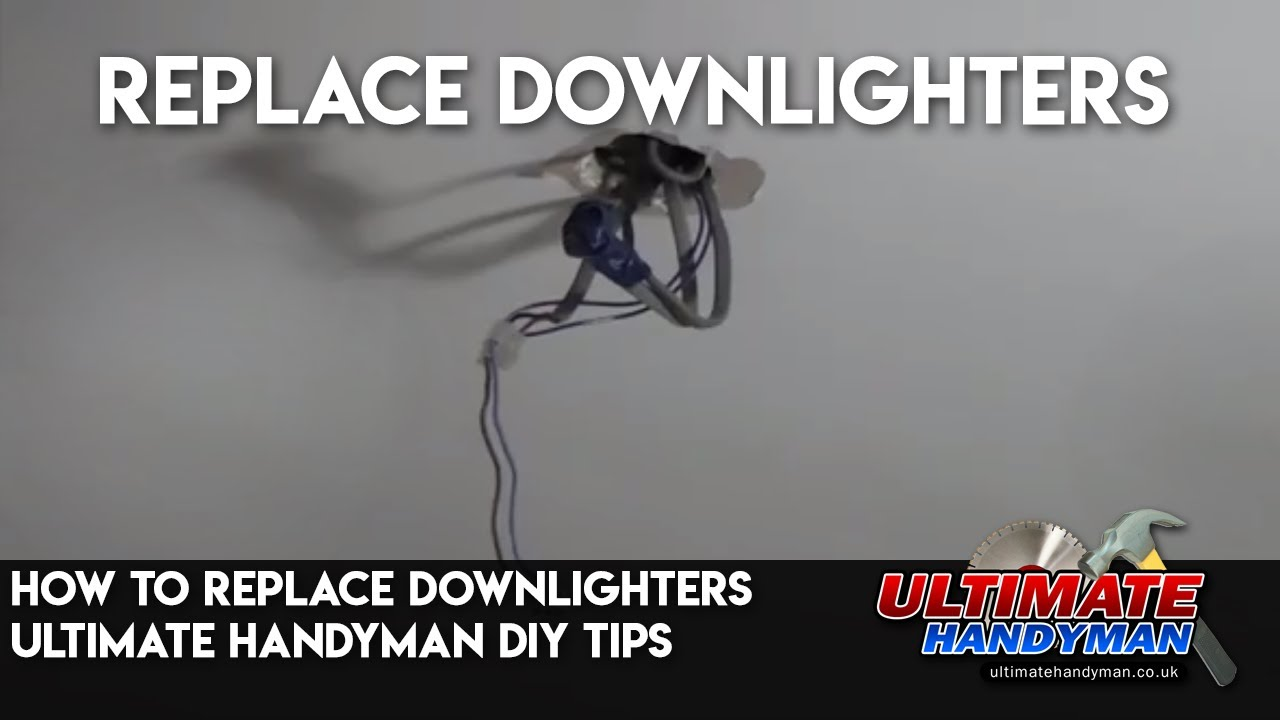 How to replace downlighters ultimate handyman diy tips youtube how to replace downlighters ultimate handyman diy tips asfbconference2016 Image collections