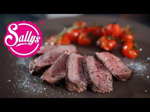 Das Perfekte Steak: Rinderhüftsteaks / Günstige Steaks / Rinderhüfte Richtig Zerlegen / Sallys Welt