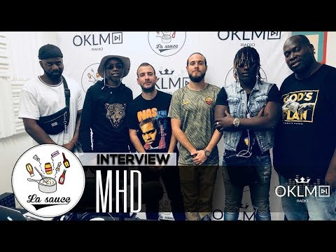 Youtube: MHD («19», succès international, Wizkid, Drake, Fin de carrière?…) – #LaSauce sur OKLM Radio