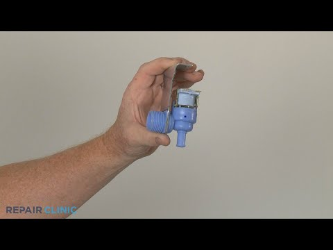 Water Inlet Valve Replacement - Frigidaire Dishwasher FGID2466QF7A