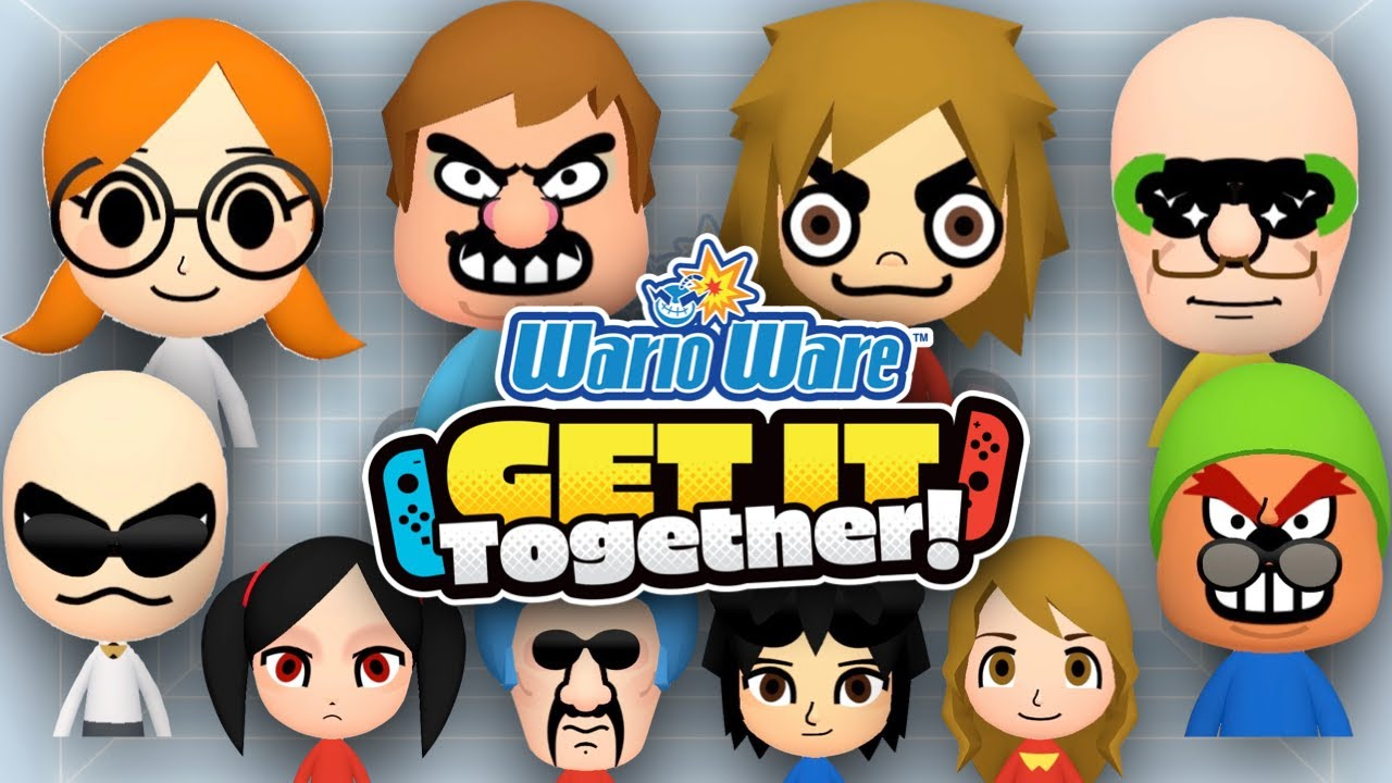 Every WARIOWARE GET IT TOGETHER Mii EVER!