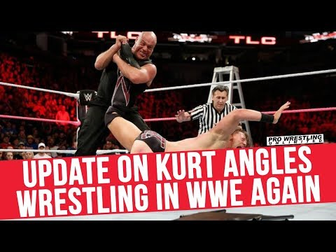 Update On Kurt Angle Wrestling Again In WWE