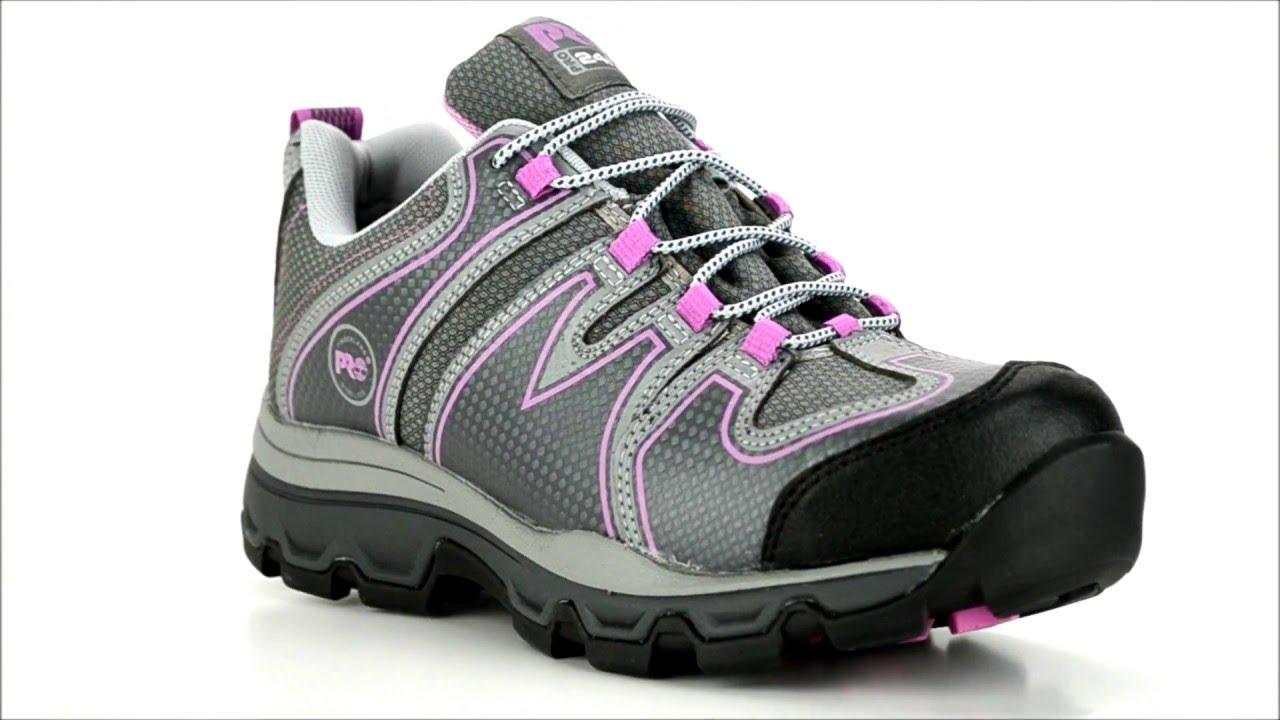 Women s Timberland Steel Toe Work Shoe A11PS   Steel-Toe-Shoes.com - YouTube 7d7ff378a4