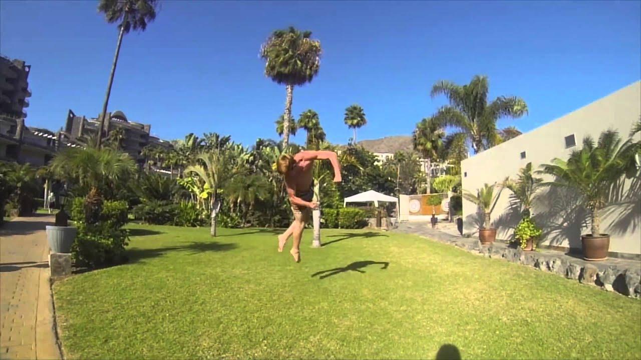 Acrobatics Gymnastics and Freerunning Conor Kenny Showreel 2015