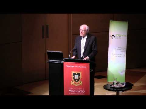 Harkness Henry Lecture 2014: Sir Geoffrey Palmer - Law Making in New Zealand: Is There a Better Way?