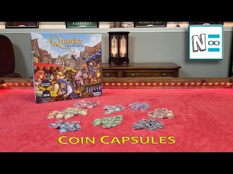QUACKS OF QUEDLINBURG - Upgrade Tokens With Coin Capsules Video