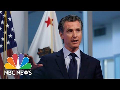 California Gov. Newsom Holds Coronavirus Briefing | NBC News