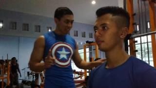 Repeat youtube video Cara Fitnes Membesarkan Dada, Tutorial Membentuk Otot Dada Dengan Cepat ( Video Terbaik Harmony Gym