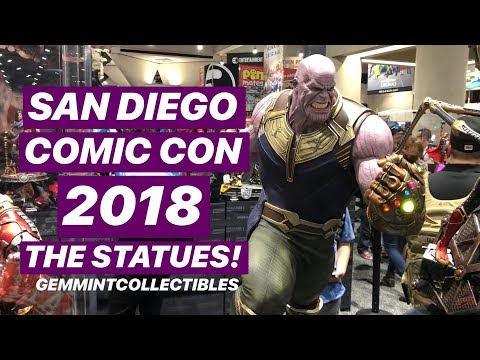 San Diego Comic Con 2018: The Statues!