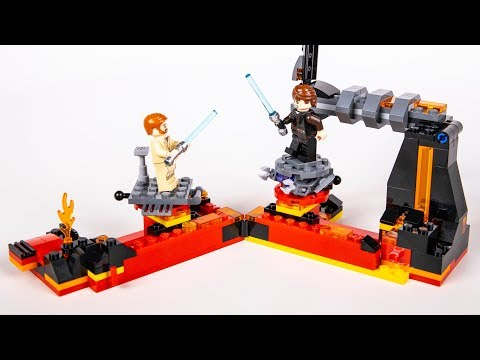 LEGO Star Wars Duel On Mustafar REVIEW - 75269