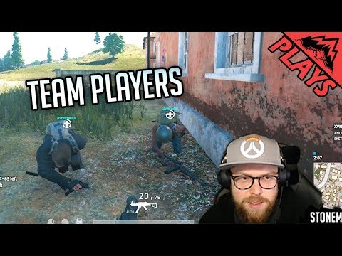 TEAM PLAYERS - PlayerUnknown's Battlegrounds Gameplay #135 (PUBG First Person Squad) thumbnail