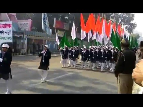 Republic Day Parade 2016 at Vidhan Bhawan Lucknow
