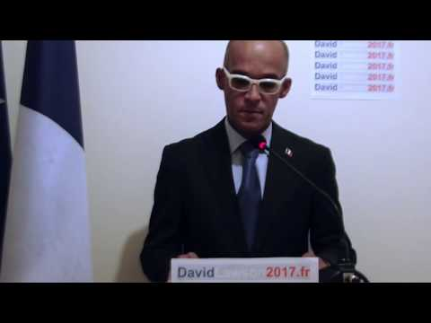 David Lawson: Vision pour l'action parlementaire 2017-2022