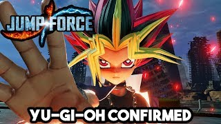 JUMP FORCE - YAMI YUGI MUTO CONFIRMED NEW CHARACTER! Playable Yugioh Characters & Screens!