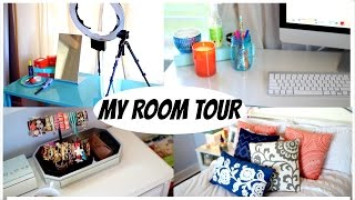 My Room Tour + Filming Area | Alexandrea Garza