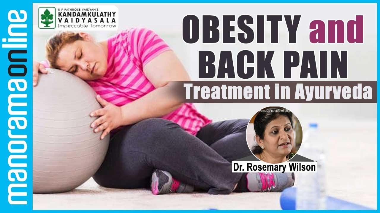 Obesity and back pain; Obesity another major cause of Back Pain ...