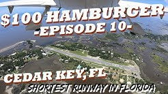 Landing on the Shortest Runway in Florida - (Cedar Key, Fl) 2018