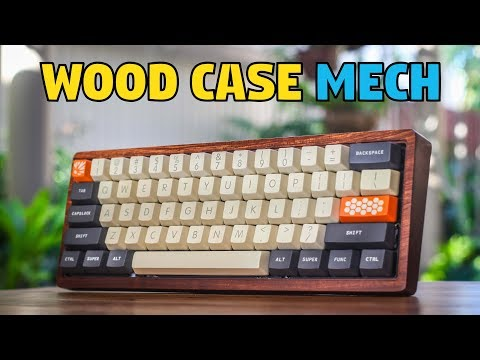 Wooden Case Mechanical Keyboard Build