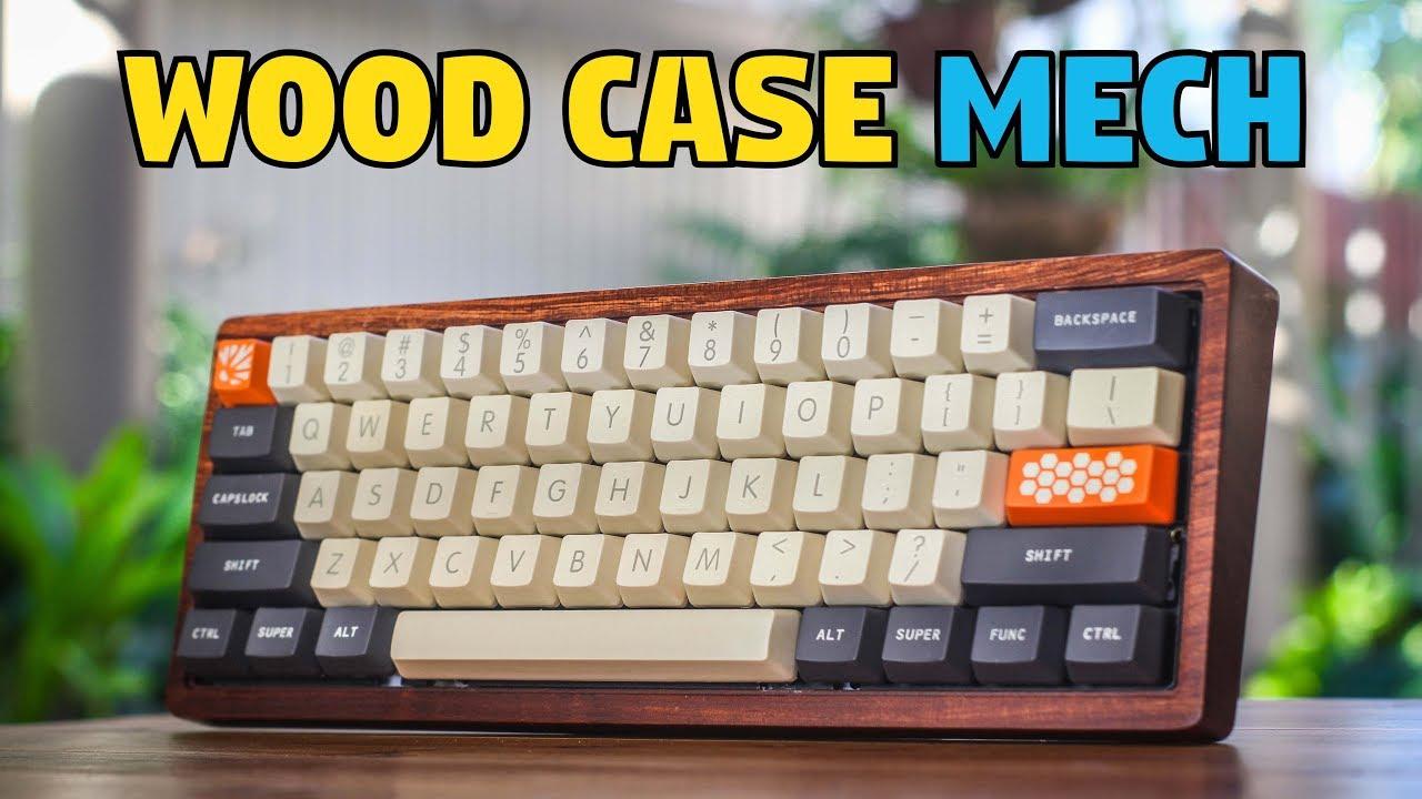 Wooden Case Mechanical Keyboard Build