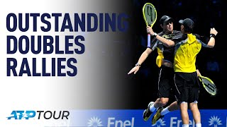 Doubles Rallies | WHY WE LOVE TENNIS | ATP