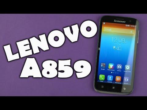 Распаковка Lenovo A859 Grey