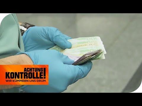 8.500€ im Gepäck: Die tragische Geschichte zum Geld | Achtung Kontrolle | kabel eins