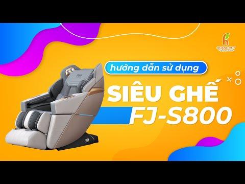 Hướng dẫn sử dụng siêu ghế FJ S800 Phi Thuyền Vũ Trụ   Chu Quang Huy Chuyên Gia Sức Khỏe