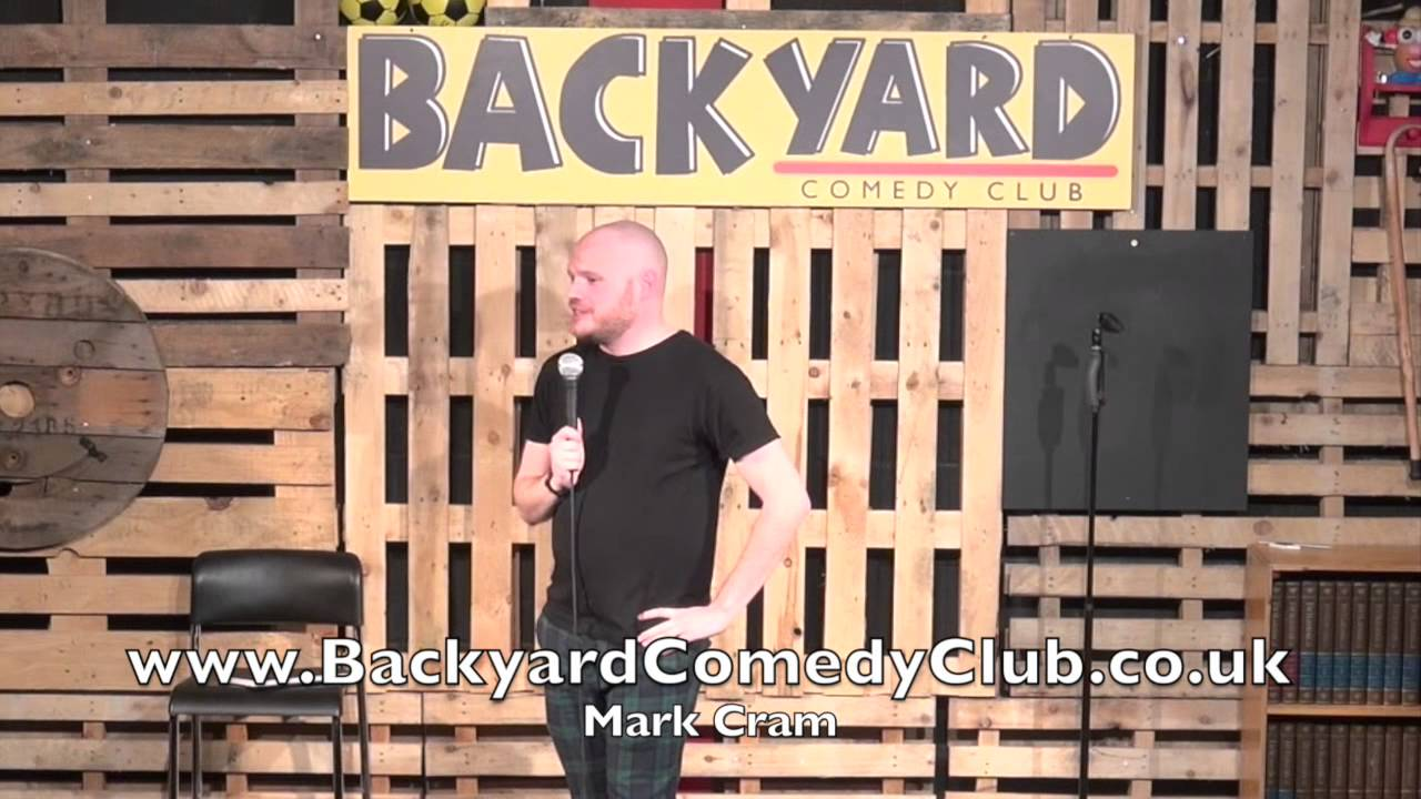 mark cram live at the backyard comedy club youtube