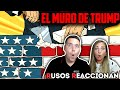🇷🇺RUSOS REACCIONAN a 9 COSAS que PASARÁN si TRUMP construye EL MURO   Reacción a México 🇲🇽