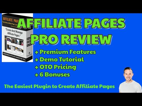 Affiliate Pages Pro Review | Updates | Premium Features | 6 BONUSES | Early Bird Pricing NOW😍 thumbnail