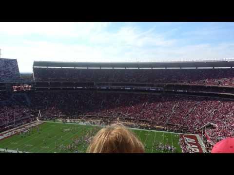 """Sweet Home Alabama"" at Bryant Denny Stadium"