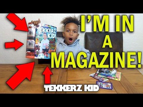 OMG!! I AM FAMOUS!! | KICK MAGAZINE | MATCH ATTAX OPENING!!