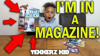 OMG!! I AM FAMOUS!! | KICK MAGAZINE | MATCH ATTAX OPENING!!