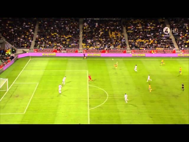 Ibrahimovic amazing goal (Sweden vs England 14.11.2012) HD