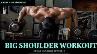 BIG SHOULDER WORKOUT | COMPLETE SHOULDER WORKOUT | Rahul fitness Official
