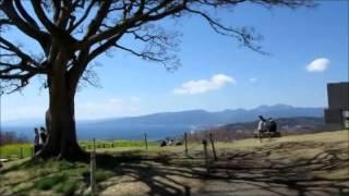神奈川県 二宮町吾妻山公園からの富士山