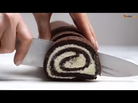 Keto Recipe - Chocolate Roll Cake