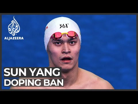 Chinese Olympic swimmer