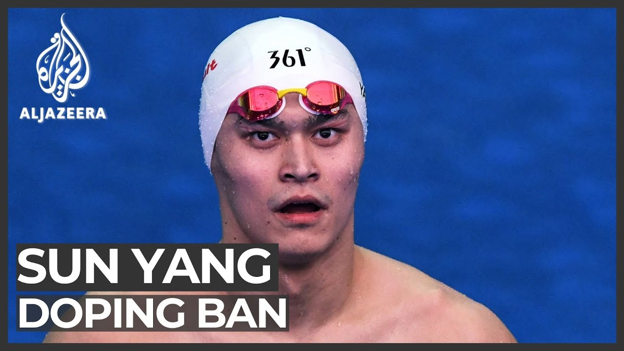 Champion Chinese Swimmer Sun Yang Gets 8-Year Ban For ...