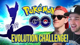 POKEMON GO - EVOLUTION TRANSFER CHALLENGE WITH ALI-A