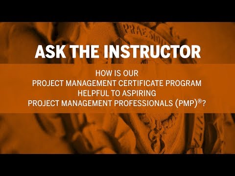 Ask The Instructor How Is Our Project Management Certificate Program Helpful To Aspiring