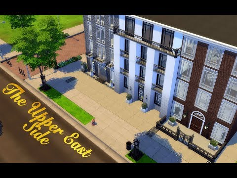 UPPER EAST SIDE   NYC   The Sims 4: Speed Build